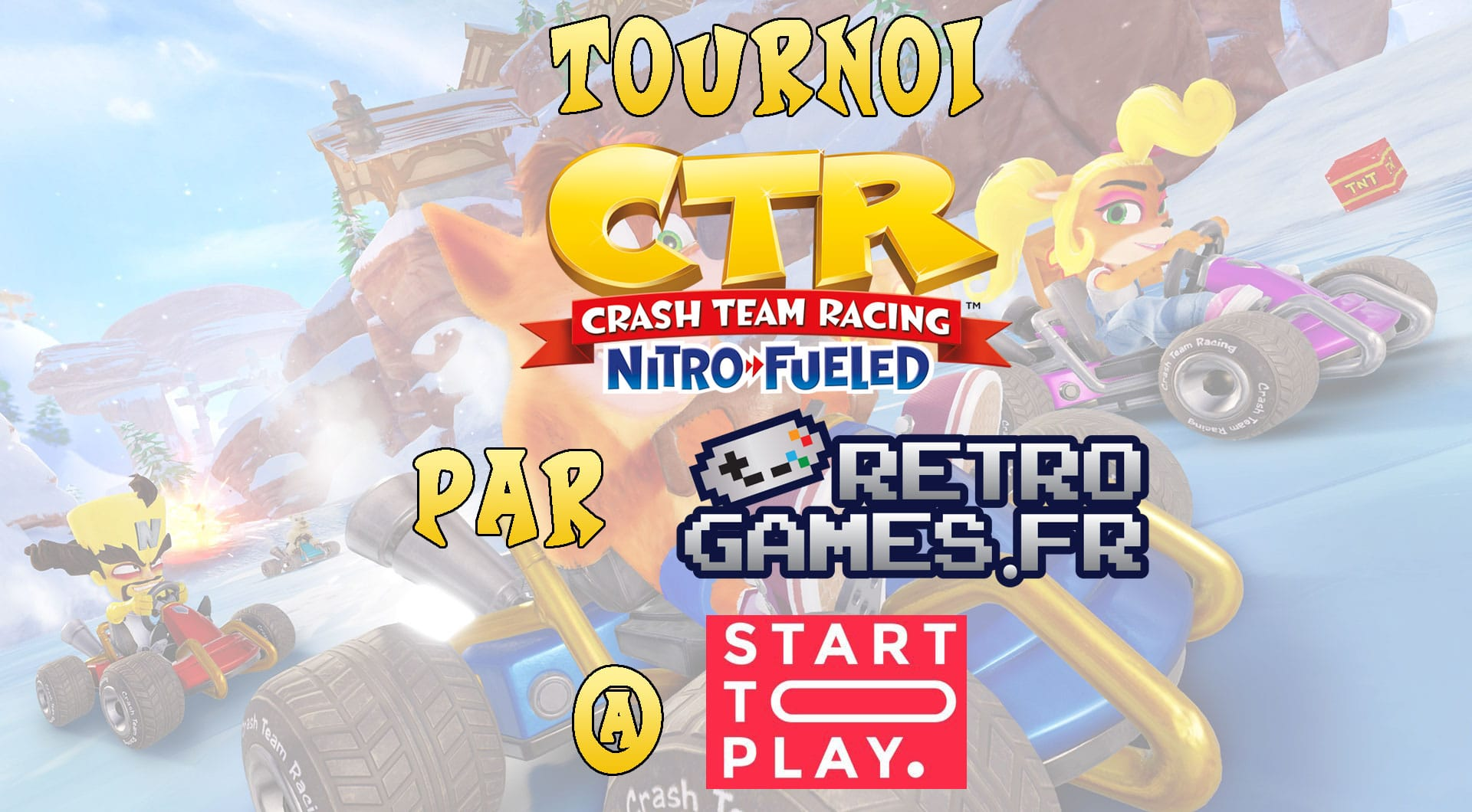 invitation au tournoi ctr a start to play 2019