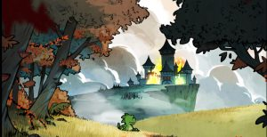 introduction du jeu The dragon's trap wonderboy