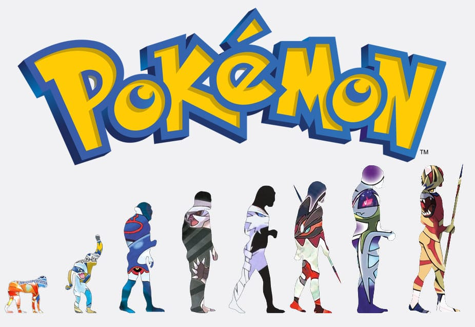 evolution gameplay jeux pokemon