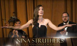 nina Struthers, la fausse CEO de Devolver Digital