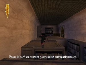plates formes bibliothèque dans le jeu harry potter 1
