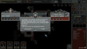 écran de récupération du loot dans le jeu loop hero sur steam