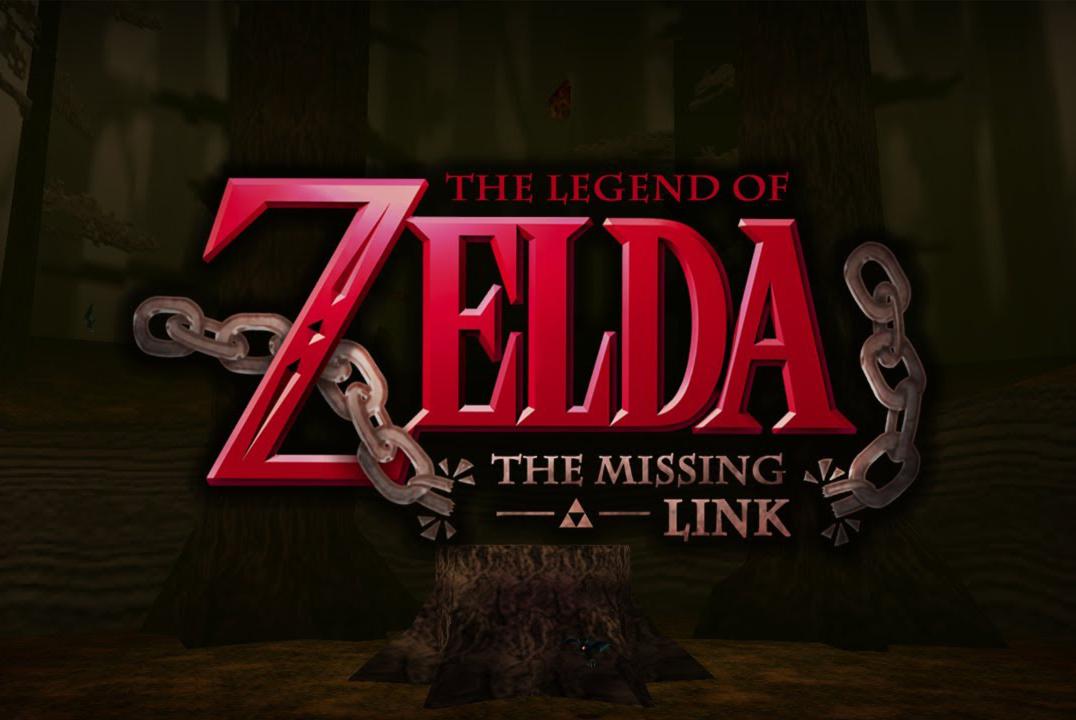 Logo du jeu zelda the missing link