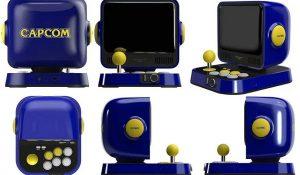 mini console capcom retro station sous tous les angles