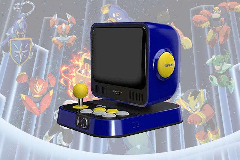 mini console capcom retro station