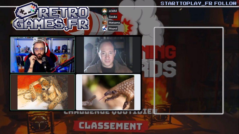 equipe retro-games.fr en live sur twitch